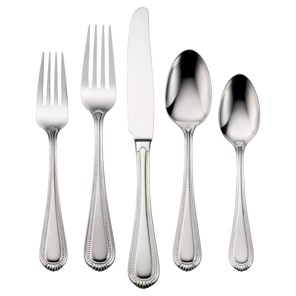 Oneida Countess 20 Piece Silverware Set, Medium Silver