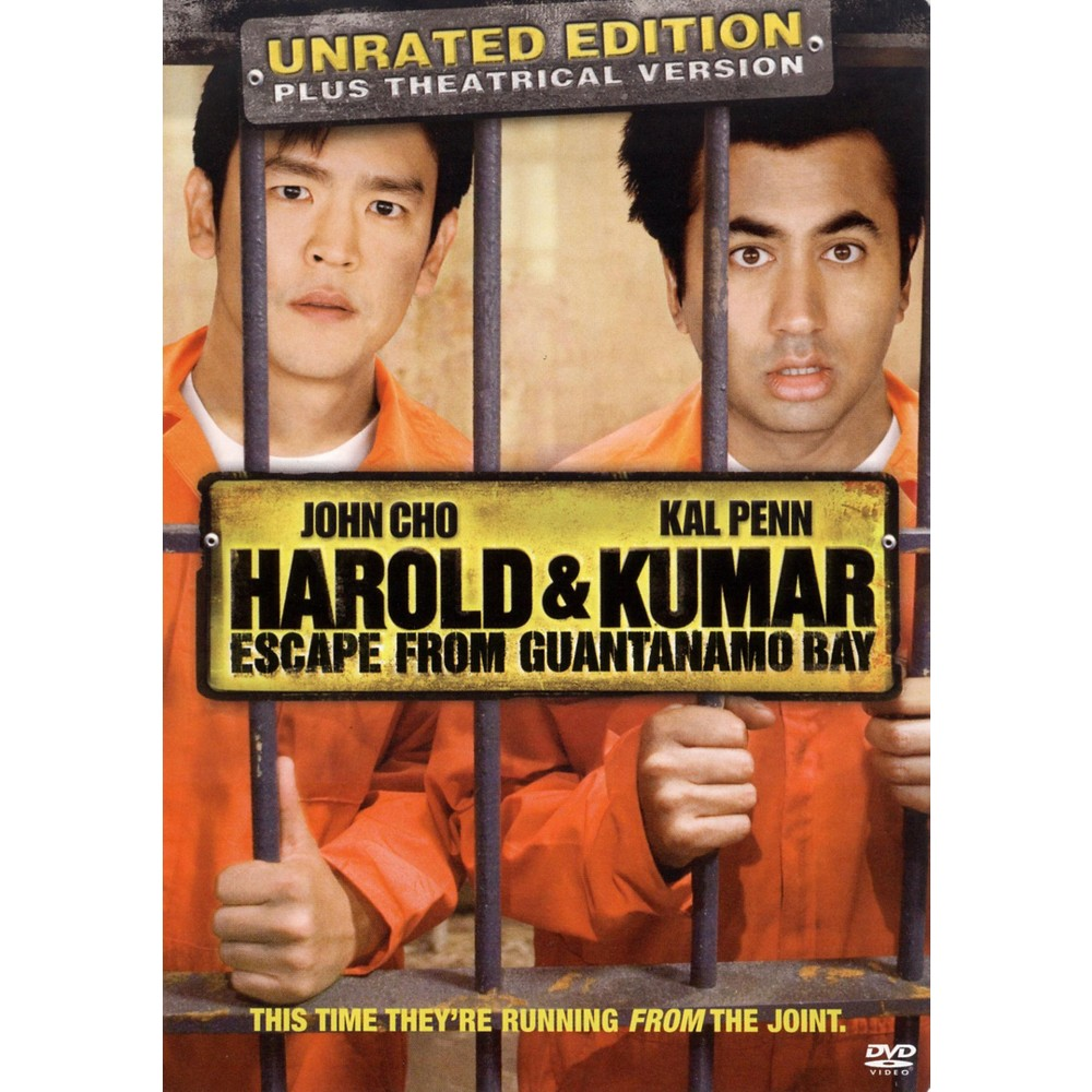 Harold and Kumar Escape from Guantanamo Bay (Unrated/Rated) (dvd_video)