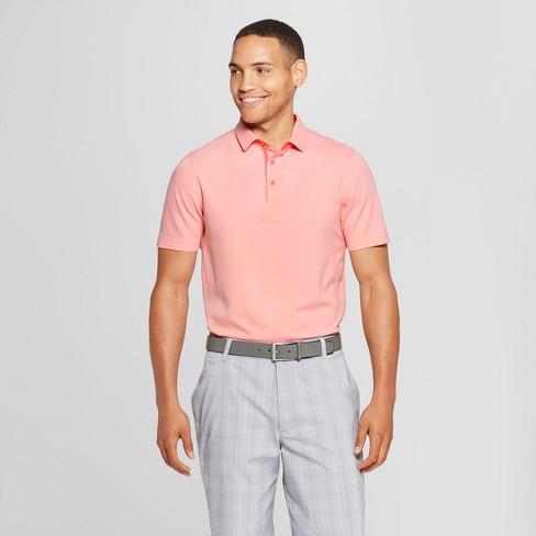 Men's Pique Polo Shirt - C9 Champion® Coral Heather XXL - image 1 of 2