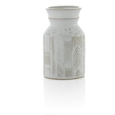 Small White Austin Vase - Shiraleah