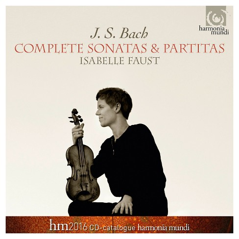 Isabelle faust - Bach:Complete violin sonatas & partit (CD) - image 1 of 1
