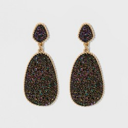 SUGARFIX by BaubleBar Dramatic Druzy Drop Earrings
