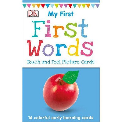 My First Touch and Feel Picture Cards: First Words - (My 1st T&f Picture Cards)
