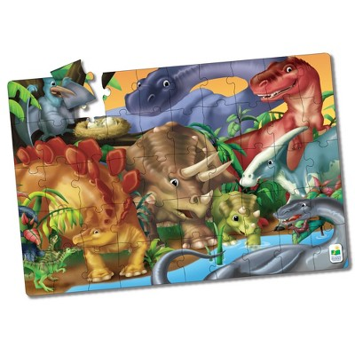 The Learning Journey Jumbo Floor Puzzles Dinosaurs 50 pieces