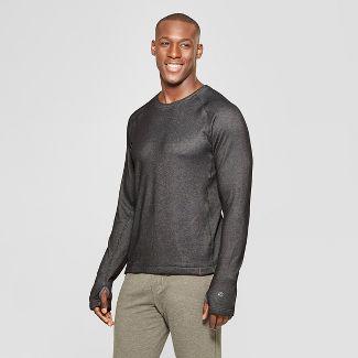 Men's Sweater Knit Crew Layer - C9 Champion® Black Heather L