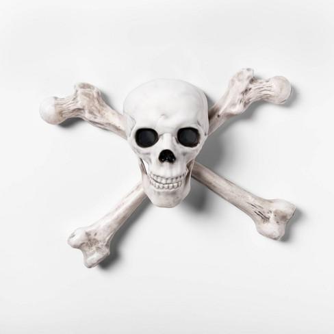 Light-Up Skeleton Crossbone Halloween Wall Decor - Hyde & EEK! Boutique™ - image 1 of 2