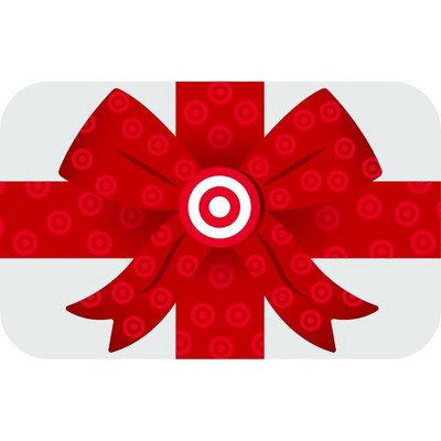 Wrapped Gift Box Target GiftCard $25