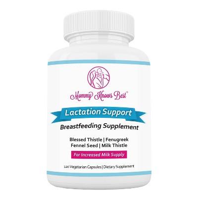 Mommy Knows Best Lactation Supplement - 120ct