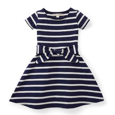 Hope & Henry Girls Knit Tie Dress, Kids