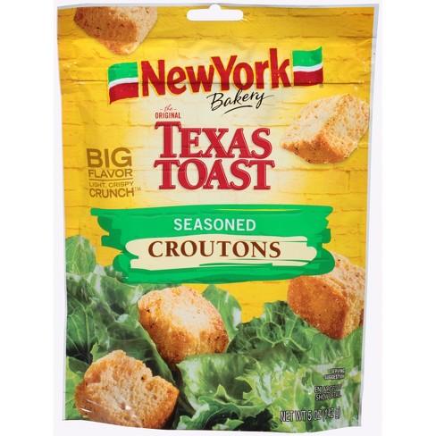 New York Bakery The Original Texas Toast Seasoned Croutons - 5oz - image 1 of 3