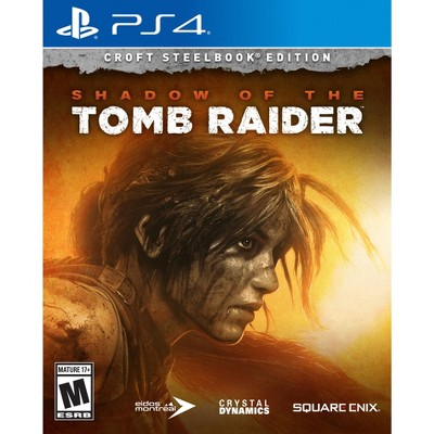 Shadow of the Tomb Raider: Croft Steelbook Edition - PlayStation 4