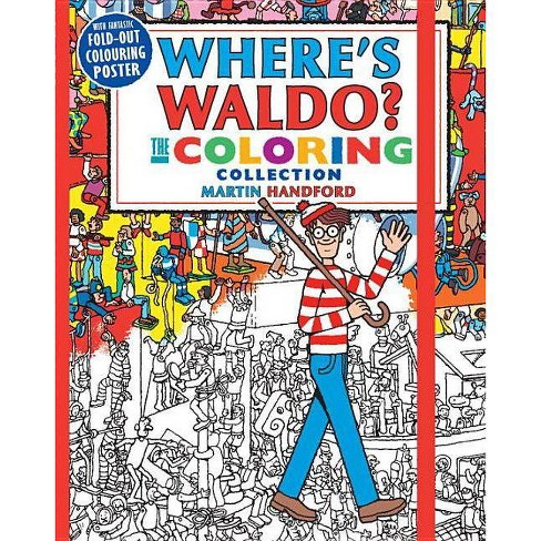 Where's Waldo? the Coloring Collection - by  Martin Handford (Paperback) - image 1 of 1
