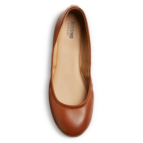 bf0c28963a9 Women s Ona Wide Width Ballet Flats - Mossimo Suppl   Target