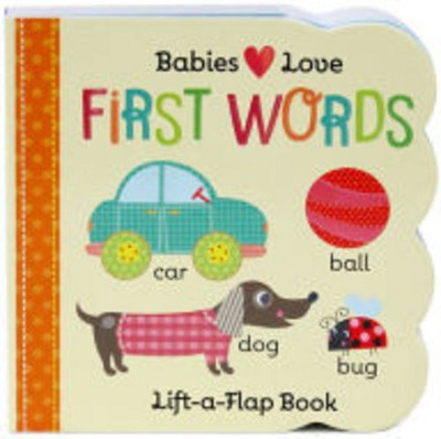 FIRST WORDS (Lift-a-Flap)(Board)(Scarlett Wing)
