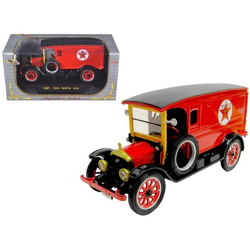 "1920 White Delivery Van Red ""Texaco"" 1/32 Diecast Model Car by Signature Models - image 1 of 1"