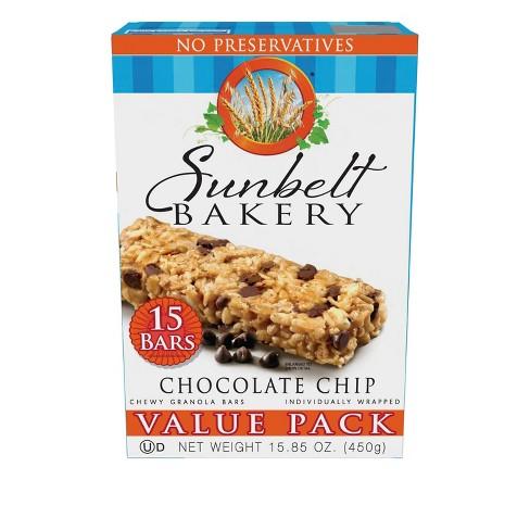 Sunbelt Bakery Chocolate Chip Granola Bars 15.85oz - image 1 of 1