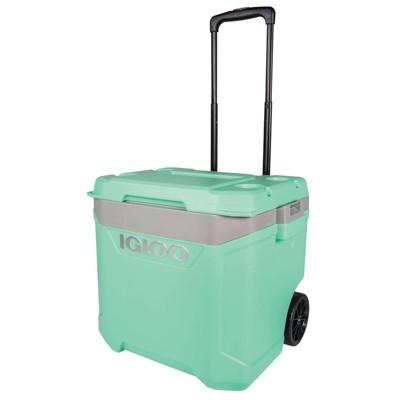 Igloo Latitude 60qt Roller Cooler - Aqua
