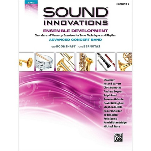 Alfred Sound Innovations Concert Band Ensemble Development Advanced French Horn 1 - image 1 of 1