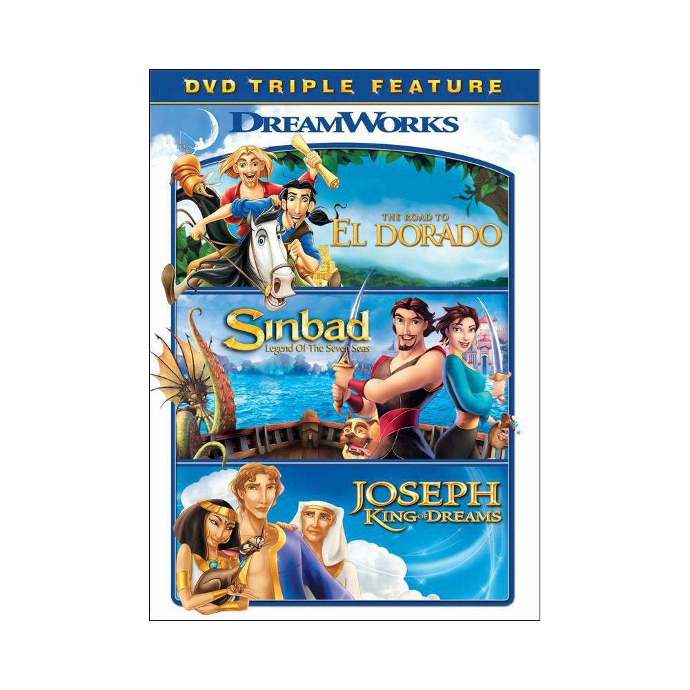 The Road To El Dorado Sinbad Legend Of The Seven Seas Joseph King Of Dreams Dvd