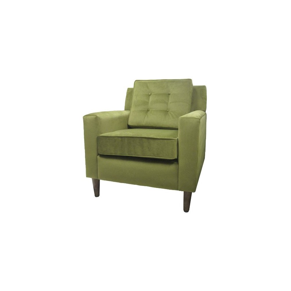 Skyline Clybourn Loft Armchair - Skyline Furniture, Green