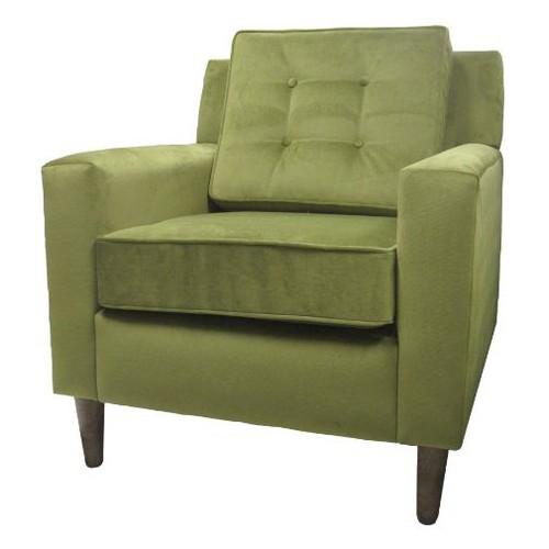 Skyline Clybourn Loft Armchair - Skyline Furniture , Green