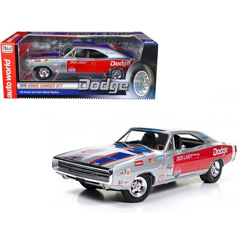 1970 Dodge Charger R/T 426 HEMI Dick Landy Limited Edition to 1002pcs 1/18 Diecast Model Car by Autoworld - image 1 of 4