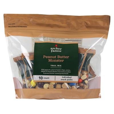 Peanut Butter Monster Trail Mix - 10ct - Archer Farms™