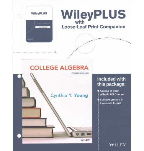 College Algebra + Wileyplus Learning Space : Print Companion (Hardcover) (Cynthia Y. Young) - image 1 of 1