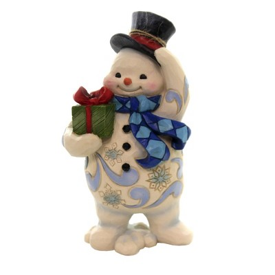 "Jim Shore 5.25"" Standing Snowman Pint Sized Heartwood Creek  -  Decorative Figurines"