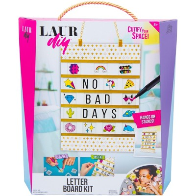 LaurDIY Letter Board Craft Kit