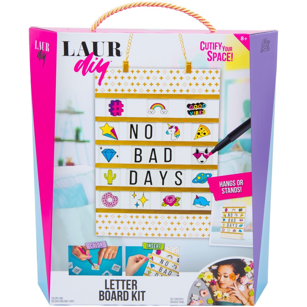 Image of LaurDIY Letter Board Craft Kit