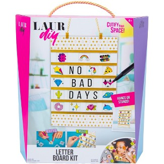 LaurDIY Letter Board Craft Kit