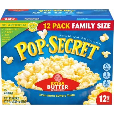 Pop Secret Extra Butter Microwave Popcorn - 12ct