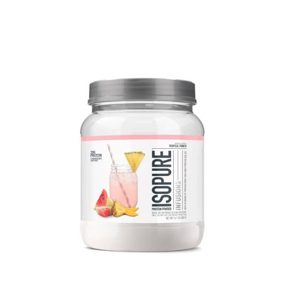 Isopure Infusions Protein Powder - Tropical Punch - 14oz