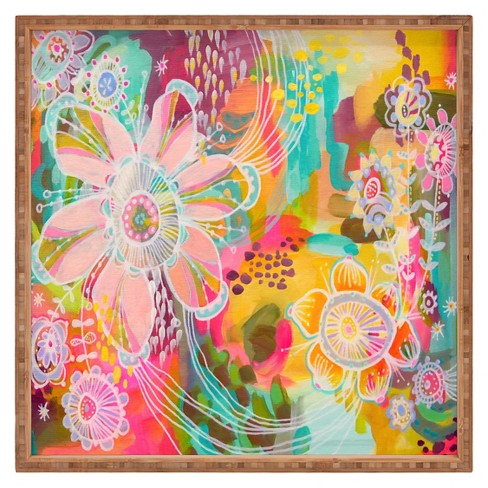 Stephanie Corfee Swoon Square Tray - Pink - Deny Designs® - image 1 of 1