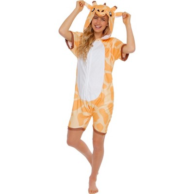 Funziez! Giraffe Adult Short Sleeve Novelty Romper