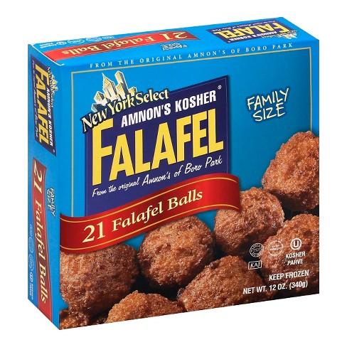 Amnons Kosher Frozen Falafel Balls - 12oz - image 1 of 1