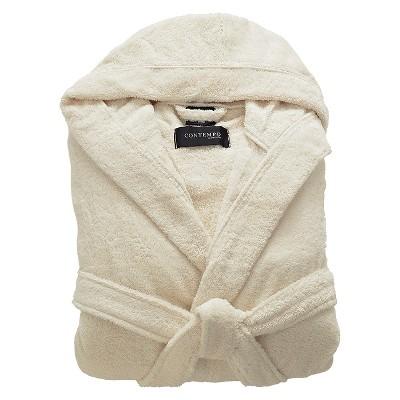 Kassatex Contempo Turkish Cotton Bath Robe - Ecru