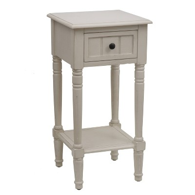 1 Drawer Simplify Accent Table - Decor Therapy