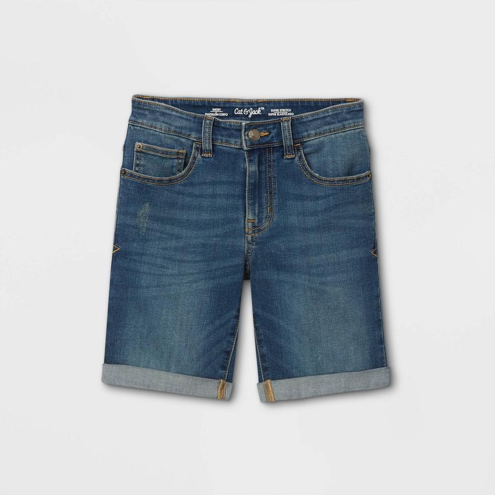 Boys 39 Jean Shorts Cat 38 Jack 8482 Dark Wash 14