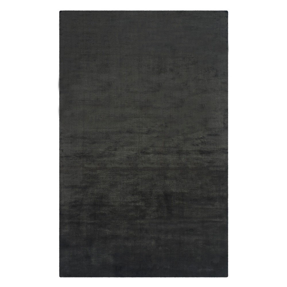 9'X12' Solid Area Rug Black - Safavieh Product Image