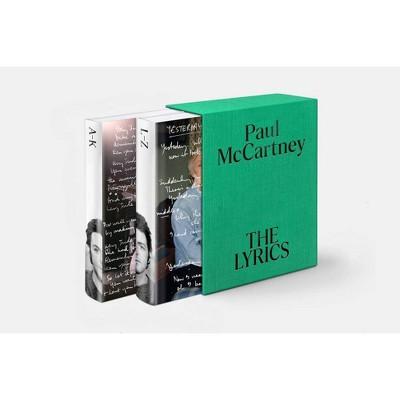 The Lyrics - by  Paul McCartney (Hardcover)