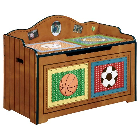Fantasy Fields Lil' Sports Fan Toy Chest - Teamson - image 1 of 3