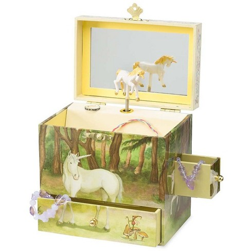 Magic Cabin - Unicorn Decorated Jewelry Box with Four Drawers for Kids - image 1 of 1