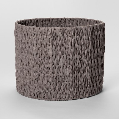 Round Woven Basket Large Tan - Project 62™