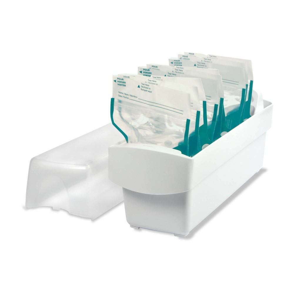 The First Years Breastflow Freezer Milk Storage Organizer