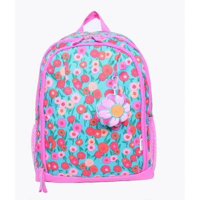Crckt 15'' Kids' Floral Backpack - Pink