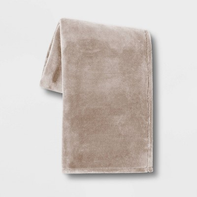 Oversize Primalush Throw Blanket Neutral - Threshold™