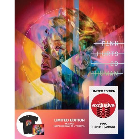 Pink Hurts 2B Human- Target Exclusive T-shirt/CD - image 1 of 2