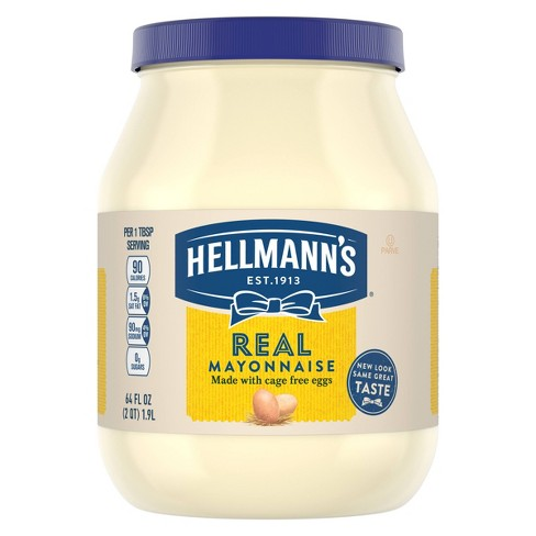 Hellmann's Mayonnaise Real - 64oz - image 1 of 4